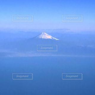 飛行機からの富士山の写真・画像素材[2795355]