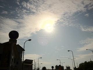 金環日食の写真・画像素材[2672062]