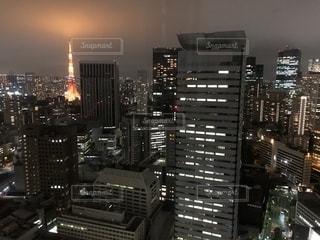 夜の都市の写真・画像素材[2718258]