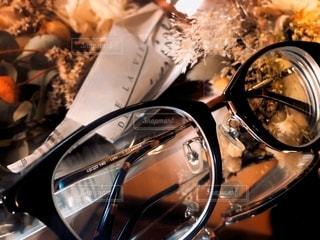 ファッション,花,アクセサリー,部屋,ドライフラワー,反射,鏡,家,眼鏡,ミラー,メガネ