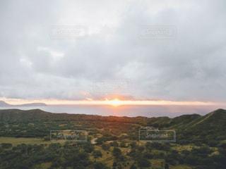 ハワイの山からの写真・画像素材[2859103]