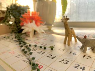 カレンダーの写真・画像素材[3012384]