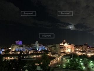 夜景の写真・画像素材[2716626]