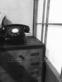 黒電話の写真・画像素材[2844591]