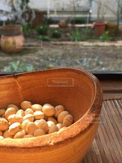 豆まきの豆の写真・画像素材[2923017]