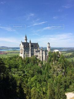 ノイシュバンシュタイン城の写真・画像素材[4459026]