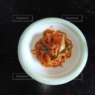 おふくろの味のナポリタンの写真・画像素材[3767902]
