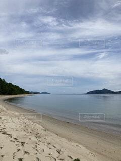 自然,風景,海,空,屋外,湖,ビーチ,雲,島,水面,海岸,山,樹木,月