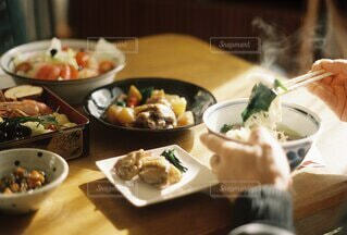 お雑煮の写真・画像素材[4222320]