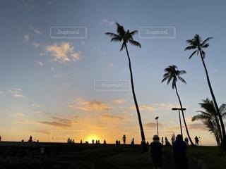夕陽の写真・画像素材[2861559]
