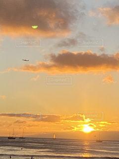 夕日の写真・画像素材[2894531]