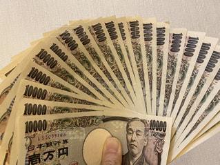 壱万円札の写真・画像素材[2937668]