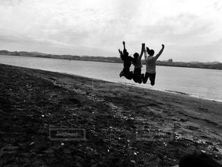 ジャンプの写真・画像素材[3025063]