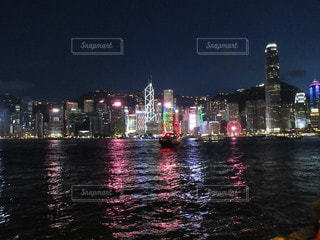 香港ナイトの写真・画像素材[2718669]