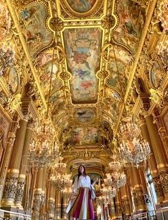 フランスオペラ座の写真・画像素材[2793003]