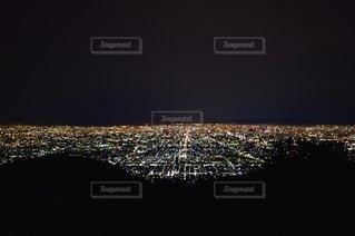 生駒山からの夜景の写真・画像素材[3377878]