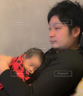 父と子の写真・画像素材[4015325]