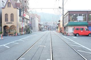 路面電車の写真・画像素材[148239]