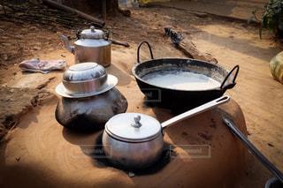 ネパール,農家のしぼりたて牛乳