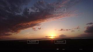 風景,空,太陽,ビーチ,雲,光,地平線