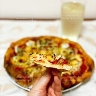 手作りピザの写真・画像素材[4908027]