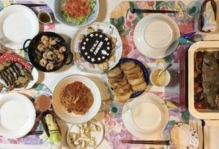 シアワセな食卓の写真・画像素材[2735350]
