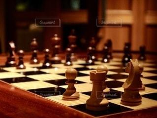 木製のチェスの写真・画像素材[2743903]