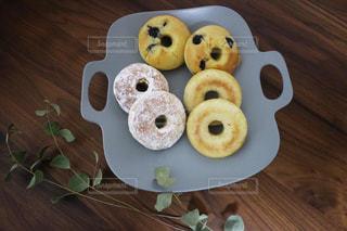 色々な焼きドーナツの写真・画像素材[3196204]
