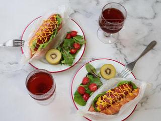 アメリカンな朝食の写真・画像素材[3214724]