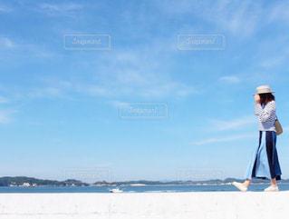 海沿い散歩の写真・画像素材[3247504]