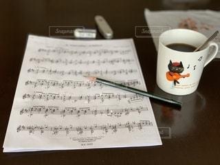 猫のギター弾きの写真・画像素材[2748843]