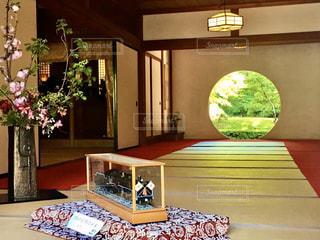 鎌倉 明月院 円窓の写真・画像素材[2824284]