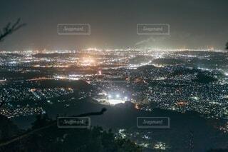 霊山からの夜景の写真・画像素材[4167677]