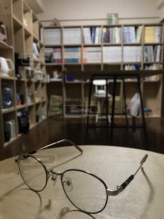 眼鏡の写真・画像素材[2760827]