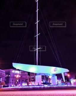 駅で光るヨットの写真・画像素材[2768229]