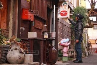 古き町並みの風景の写真・画像素材[2822047]