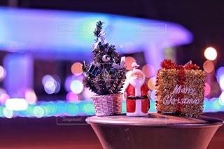 街角のクリスマスの写真・画像素材[2823232]