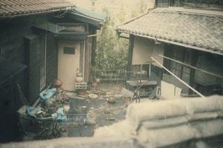 壊れかけた町並みの写真・画像素材[2848371]