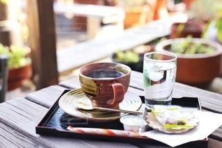 田舎で飲む珈琲の写真・画像素材[2891885]