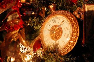 クリスマスツリーのクローズアップの写真・画像素材[2816921]