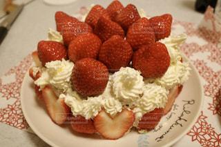 クリスマスケーキの写真・画像素材[2822884]