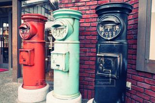 郵便ポストの写真・画像素材[2870845]