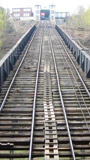 アメリカ ケーブルカーの階段の写真・画像素材[2758245]