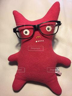 ファッション,アクセサリー,屋内,赤,かわいい,眼鏡,ぬいぐるみ,お土産,好き,素敵,キュート,メガネ,Naughty Naughty Kiefer