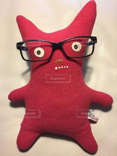 ファッション,アクセサリー,赤,かわいい,眼鏡,ぬいぐるみ,お土産,好き,素敵,キュート,メガネ,Naughty Naughty Kiefer