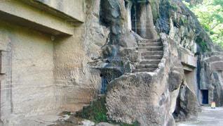 石造りの建物の写真・画像素材[2763108]