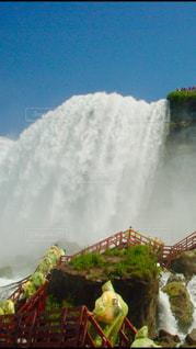 滝に向かって 2の写真・画像素材[2765445]