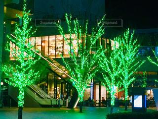 シンプルな夜景 名古屋の写真・画像素材[2769031]