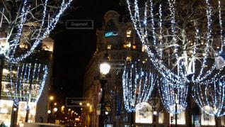 パリの夜景の写真・画像素材[2772952]