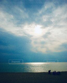 自然,風景,海,空,屋外,太陽,ビーチ,砂浜,水面,海岸,光,クラウド